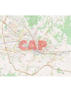 Mappa dei cap di Firenze jpg