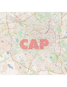 Mappa dei cap di Milano jpg