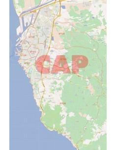 Mappa dei cap di Livorno jpg