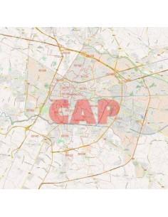 Mappa dei cap di Padova jpg