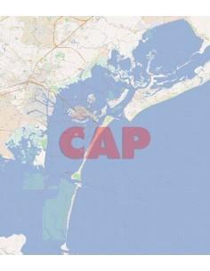 Mappa dei cap di Venezia jpg