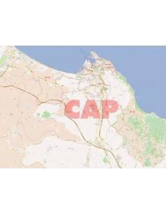 Mappa dei cap di Ancona jpg