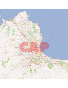 Mappa dei cap di Palermo jpg