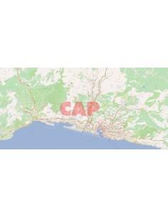 Mappa dei cap di Genova jpg