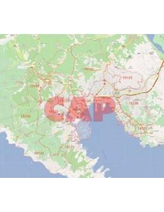 Mappa dei cap di La Spezia jpg