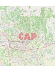 Mappa dei cap di Verona jpg
