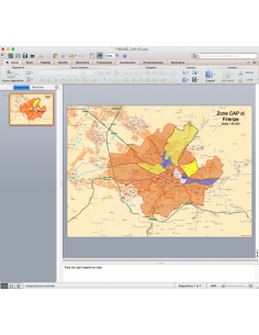 Mappa dei CAP di Firenze con stradario PowerPoint