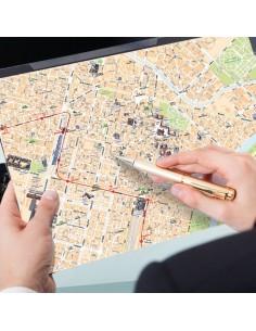 Mappa di Torino su Block Notes A3+