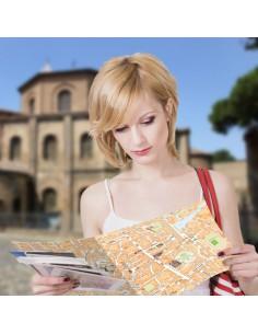 Mappa di Ravenna su Block Notes A3+