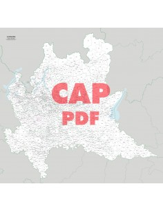 Mappa dei comuni e CAP della Lombardia pdf