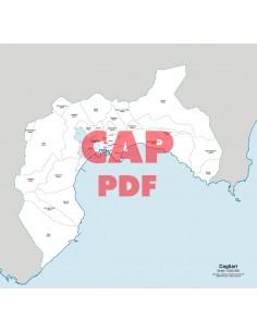 Mappa dei comuni e CAP della provincia di Cagliari pdf