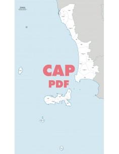 Mappa dei comuni e CAP della provincia di Livorno pdf