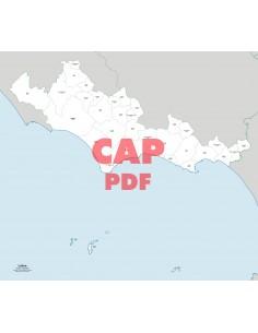 Mappa dei comuni e CAP della provincia di Latina pdf