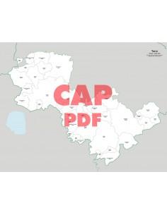 Mappa dei comuni e CAP della provincia di Terni pdf