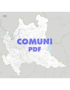 Mappa dei comuni della Lombardia pdf