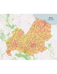 Cartina Del Molise Geografica.Mappa Dei Comuni Del Molise Pdf