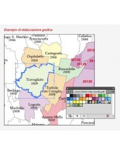 Cartina Stradale Sardegna Pdf.Mappa Dei Comuni Della Sardegna Pdf