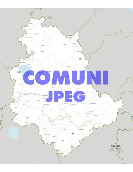 Cartina Dell Umbria Con Tutti I Comuni.Mappa Dei Comuni Dell Umbria Jpg