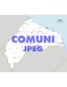 Mappa dei comuni della provincia di Ancona jpg