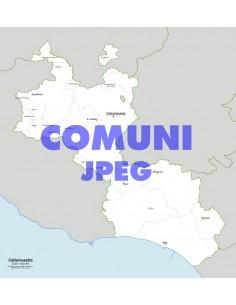 Mappa dei comuni della provincia di Caltanissetta jpg