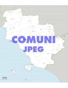Mappa dei comuni della provincia di Grosseto jpg