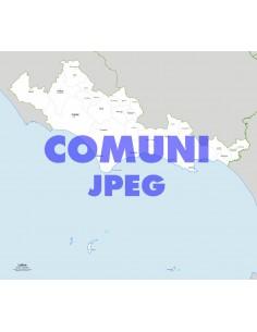 Mappa dei comuni della provincia di Latina jpg