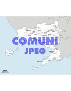 Mappa dei comuni della provincia di Napoli jpg
