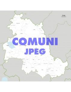 Mappa dei comuni della provincia di Perugia jpg