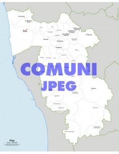 Mappa dei comuni della provincia di Pisa jpg