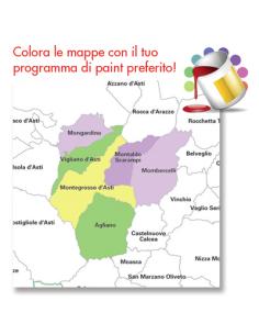 Cartina Geografica Provincia Di Pesaro Urbino.Mappa Dei Comuni Della Provincia Di Pesaro Urbino Jpg
