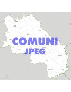 Mappa dei comuni della provincia di Siena jpg