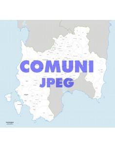 Mappa dei comuni della provincia Sud Sardegna jpg