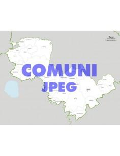 Mappa dei comuni della provincia di Terni jpg