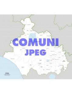 Mappa dei comuni della provincia di Viterbo jpg