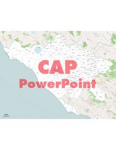 Mappa dei comuni e CAP della provincia di Roma ppt