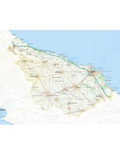 Mappa della provincia di Brindisi pdf scala 1:200.000