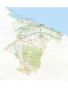 Mappa della provincia di Barletta pdf scala 1:200.000