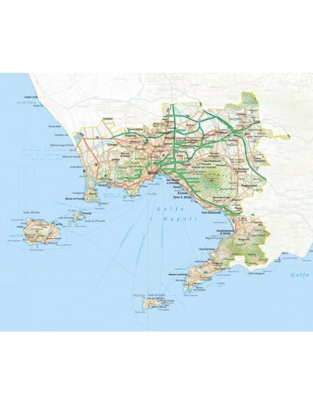 Cartina Napoli Pdf.Mappa Della Provincia Di Napoli Pdf Scala 1 200 000