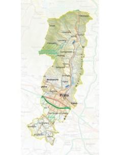 Mappa della provincia di Prato pdf scala 1:200.000