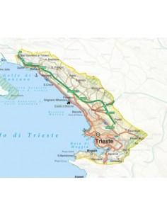 Mappa della provincia di Trieste pdf scala 1:200.000