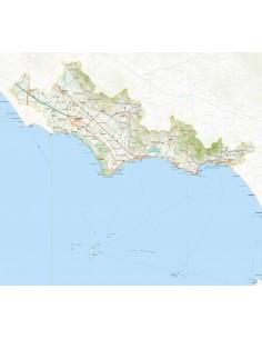 Mappa della provincia di Latina jpg scala 1:200.000
