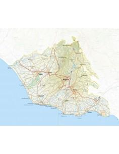 Mappa della provincia di Ragusa jpg scala 1:200.000