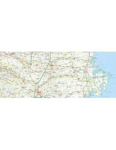 Cartina Dell Italia Rovigo.Mappa Della Provincia Di Rovigo Jpg Scala 1 200 000