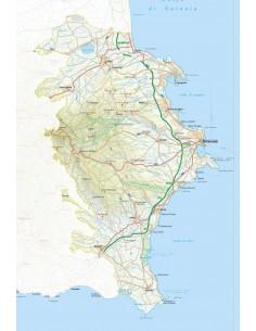 Mappa della provincia di Siracusa jpg scala 1:200.000