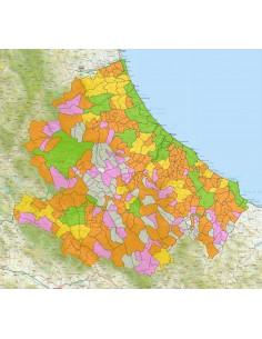 Cartina Abruzzo Pdf.Mappa Stradale Con Comuni Dell Abruzzo Pdf