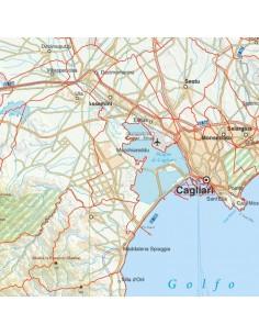 Cartina Stradale Sardegna Pdf.Mappa Stradale Con Comuni Della Sardegna Pdf