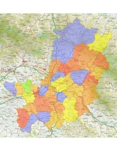 Firenze Cartina Geografica.Mappa Stradale Con Comuni Della Provincia Di Firenze Pdf