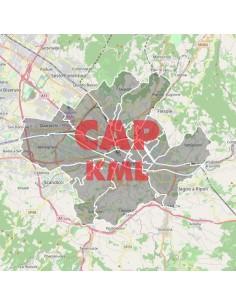 Mappa dei cap di Firenze KML