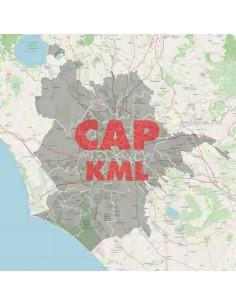 Mappa dei cap di Roma KML