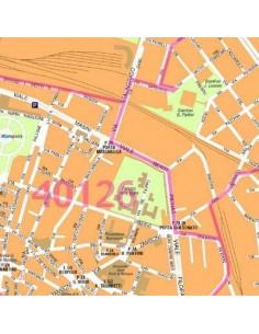 Mappa di Bologna centro jpg 1:10.000 con CAP